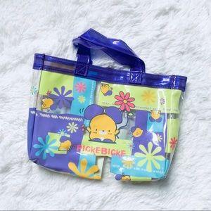 1998 Sanrio PickeBicke plastic hand bag